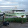 エストニア・タリンーフィンランド・ヘルシンキ 巨大フェリー 移動